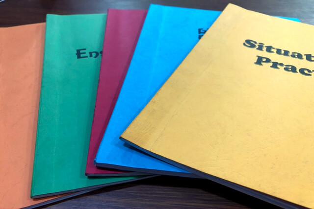 英語力の向上、勉強する習慣