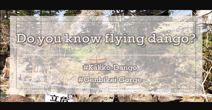What is Kakko-Dango? Do you know flying dango?