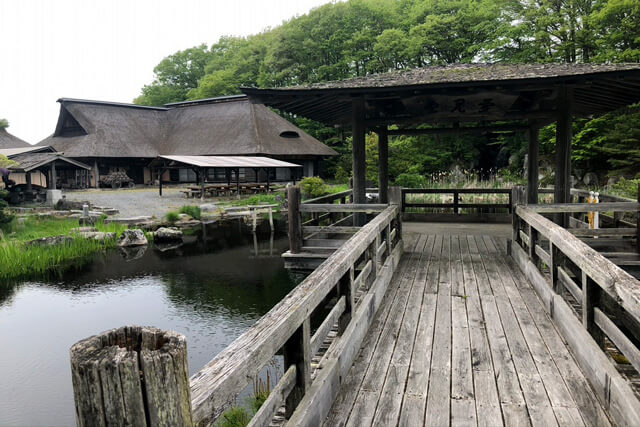 Takamuro Suikoen 【a facility that reproduces the nature of Tono】