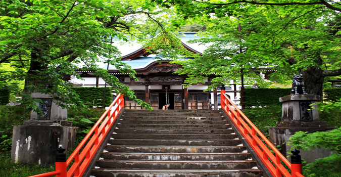 What is Fukusenji Temple in Tono? What is the charm of Fukusenji Temple?
