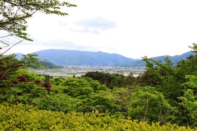 the cityscape of Tono