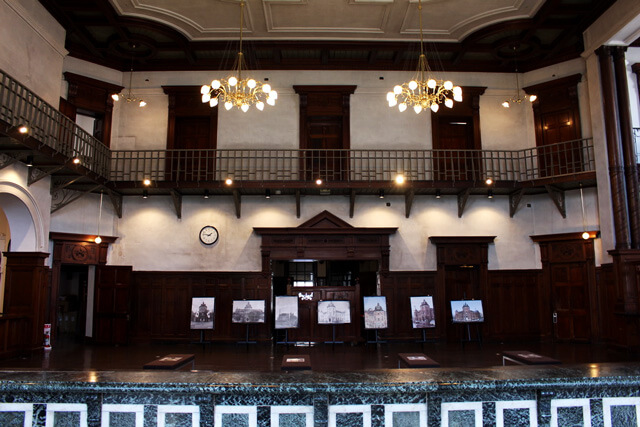 Enjoy the classical atmosphere at Bank of Iwate Red Brick Building!