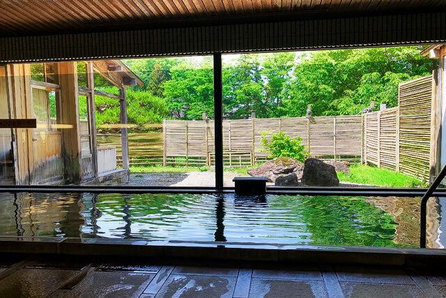 広がる厳美渓の絶景!いつくし園で日帰り入浴を楽しむ!