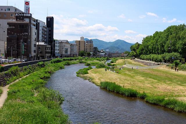 【盛岡】中津川綱取りダム下流
