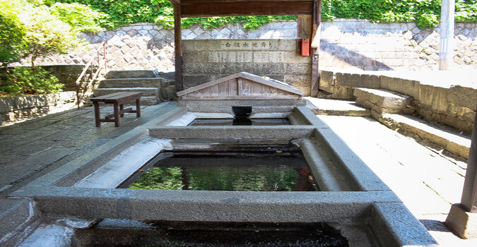 What is Seiryusui? The best water in a historical town!