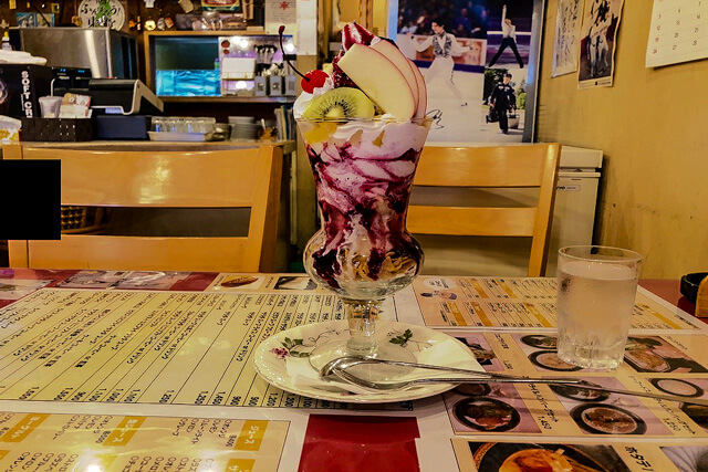 【Ichinoseki】What is Furend? Furiend's specialty big parfait! It's amazing size!