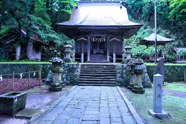 What is Haishiwa Shrine?