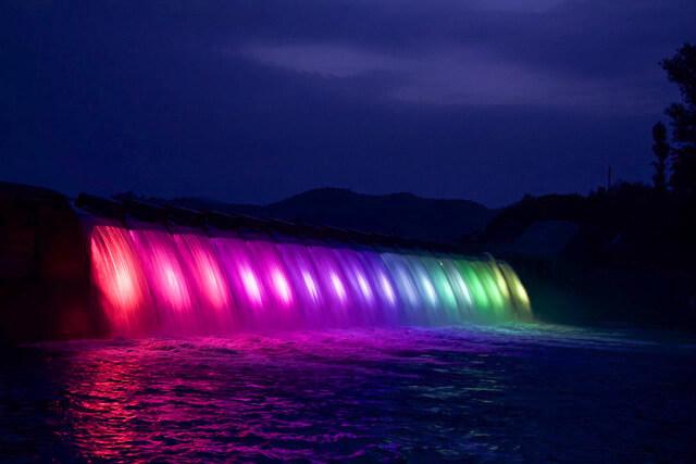 What is Kinshuko Otaki Illumination?Let's wnjoy the fantastic scenery!