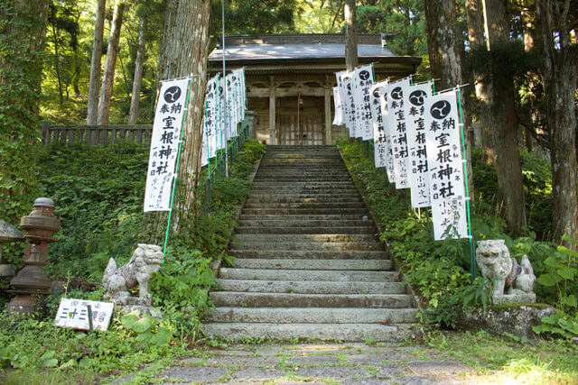 "What is Murone Shrine? the shrine with a history of more than 1300 years enshrined in the sacred mountain ""Mt. Murone"""