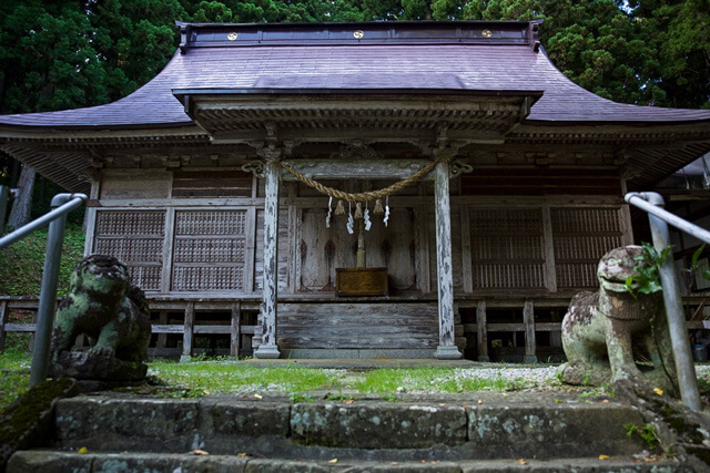 What is Mokusa Shrine?